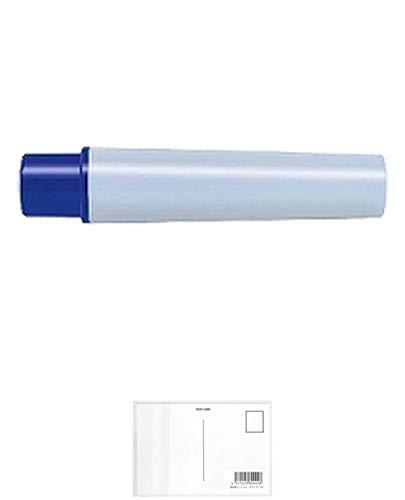 ゼブラ 油性マーカー マッキーケア極細用カートリッジ 青 RYYTS5-BL 【× 4 本 】 + 画材屋ドットコム ポストカードA
