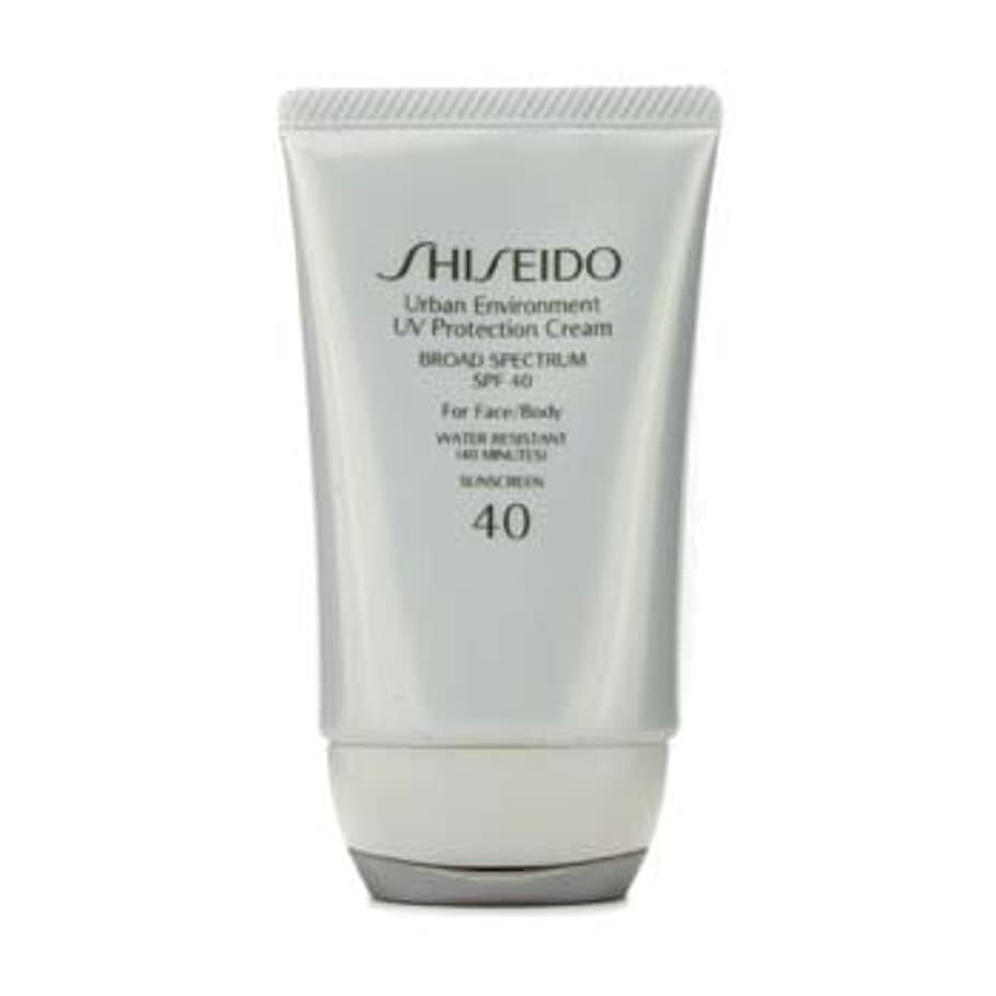 小さい魔女緩むShiseido Urban Environment UV Protection Cream SPF 40 (For Face & Body) - 50ml/1.9oz by Shiseido [並行輸入品]