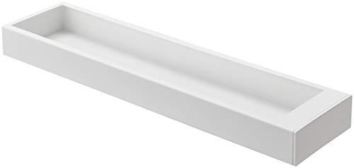 山崎実業 猫の爪とぎケース タワー ホワイト 約W50.5XD12.5XH4.5cm ペット用品 爪とぎ 爪とぎケース 4210