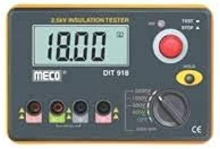 Meco 1999 Counts Insulation Tester 2.5kV with AC Voltage Function