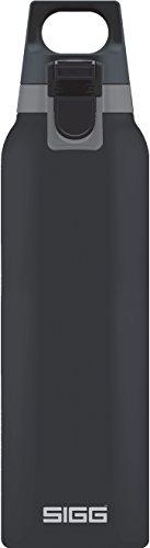 SIGG Hot und Cold ONE Shade Thermo Trinkflasche (0.5 L), schadstoffreie und isolierte Trinkflasche, einhändig bedienbare Thermo-Flasche aus Edelstahl