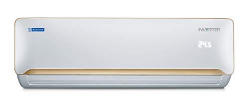 Blue Star 1.5 Ton 3 Star Inverter Split AC (Copper, IC318QATU, White + Champagne Gold)