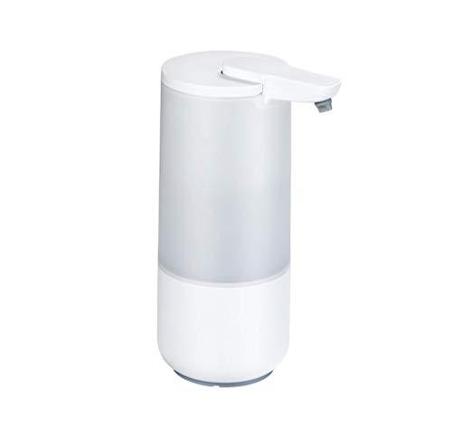 Dispensador de jabón Dispensador de jabón automático Dispensador de jabón de inducción sin contacto plástico Máquina desinfectante de la mano de la mano de la batería USB recargable Dispensador de jab