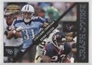 Arian Foster; Cortland Finnegan #6/25 (Football Card) 2011 Panini Gridiron Gear - Crash Course - Platinum #3