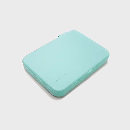 Kumundo Box - Caja/Funda para guardar mascarillas. Porta mascarillas. (Turquesa)
