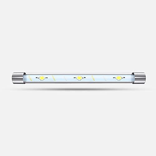 LIPETLI Luz Plantado SubacuáTica para Tanque con pez, LáMpara Impermeable para Acuario luz Sumergible Control y led De Espectro Completo para Acuario,57cm