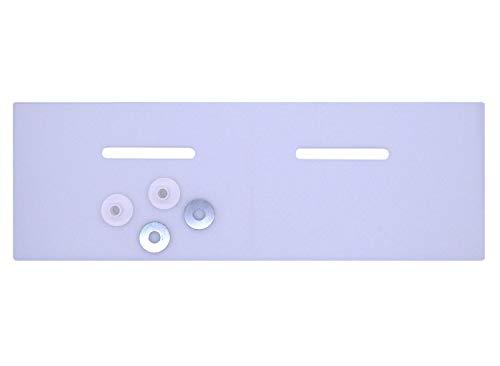 Schallschutzset für Waschbecken bis 550 mm | Komplettset für Handwaschbecken und Waschtische | Schallschutzmatte by kör4u