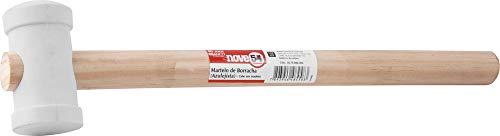 Martelo De Borracha, 40 Mm, Para Azulejista, Branco, Nove54 Nove 54