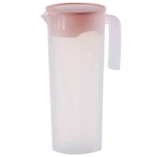UPKOCH - Jarra de plástico con tapa para bebidas frías y calientes,...