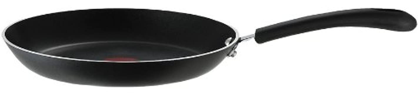 T-fal E93808 Professional Nonstick Fry Pan, Nonstick Cookware, 12 Inch Pan, Thermo-Spot Heat Indicator, Black