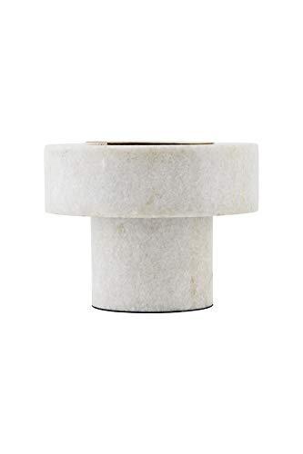 House Doctor Tischlampe Pin weiß Marmor