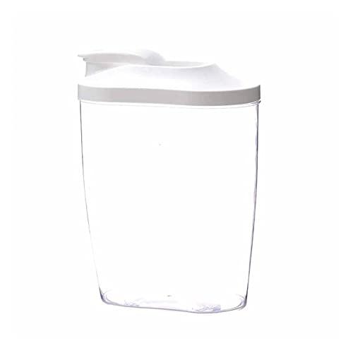 XIANGE100-SHOP Granos Arroz Nuez Snack Coffice Caja de Almacenamiento Transparente Cocina Comida Contenedor Almacenamiento (Size : 1500ML)