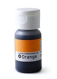 Colorant alimentaire orange naturel