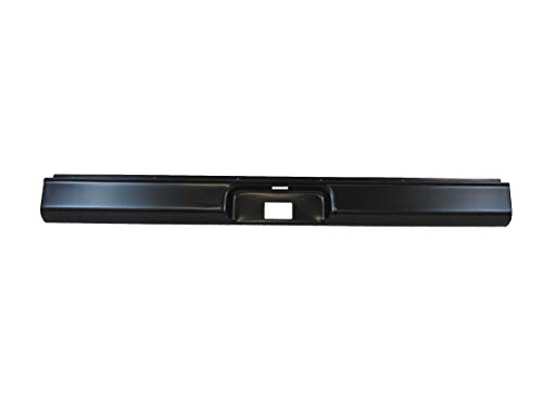 Fits 1973-1987 Chevy Gmc C10 Pickup Fleetside Body Type Rear Roll Pan With License Plate Provision (18 Gauge Steel)