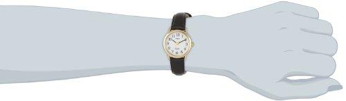 Timex – Reloj de Cuarzo para Mujer, Correa de Piel
