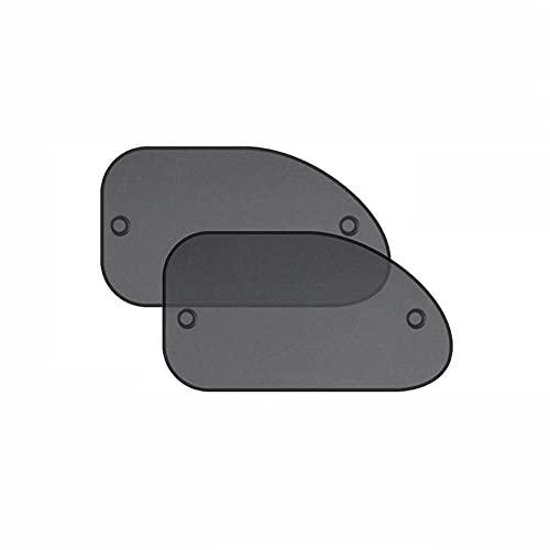 BAWAQAF Sombrillas de coche para parabrisas, 4 parasoles laterales para parabrisas, toldo plegable para coche, accesorios de protección para coche