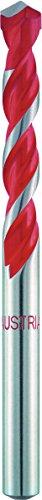 Alpen 17200700100 multipurpose boor professioneel multicut met cilindrische schacht, kort, diameter 7 mm, L1 100 mm, L2 54 mm