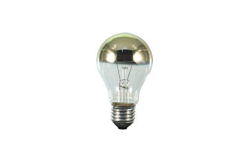 S+H Allgebrauchslampe 65x123mm Sockel E27 235 Volt 100 Watt kuppenverspiegelt gold