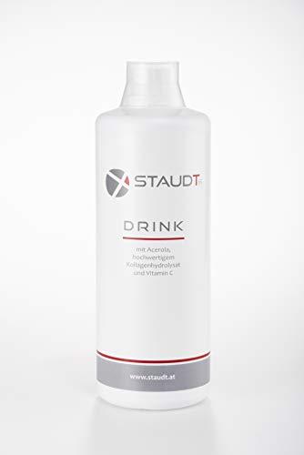 Staudt Gelenks Drink 1 Liter | wohlschmeckender Kollagendrink | Bei Osteoporose, Arthrose, Rheuma