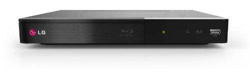 LG BP240 Blu-ray Player (HDMI, 1080p Upscaling, USB) schwarz