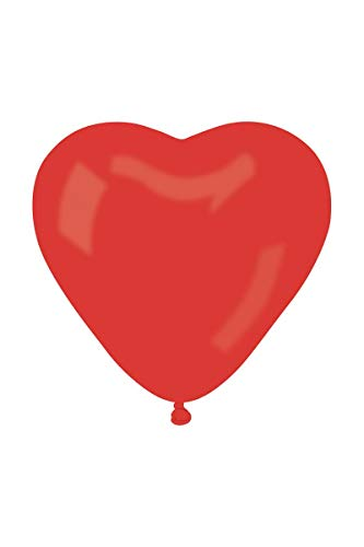 Aptafêtes 1 Ballon Coeur Rouge Géant - Taille Unique