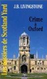 Crime à Oxford