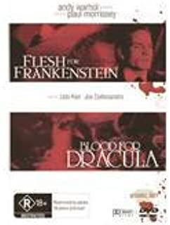 Andy Warhol Double Film Pack (Flesh for Frankenstein & Blood for Dracula) [ NON-USA FORMAT, PAL, Reg.4 Import - Australia ]
