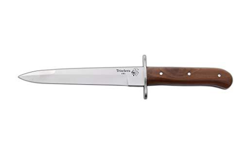 J&V Adventure Knives JV Messer TRINCHERA ALEMAN - Werkzeug für Jagd, Angeln, Überleben und Bushcraft - Hergestellt in Albacete