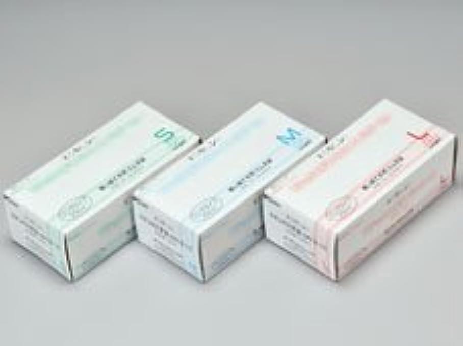 勝者接続詞仕出しますエクセレントラテックス手袋 NR-310PF Sサイズ 100枚入