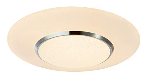CANDIDA - Lámpara de techo LED (acrílico, CCT, eficiencia energética: A opal), color blanco