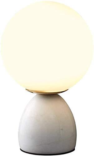 Lámpara de escritorio de mesa de cristal nórdico lámpara de la noche dormitorio lámpara moderna sala de estar iluminación lámpara de mesa lámparas de noche