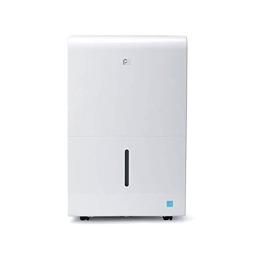 Perfect Aire 50-Pint, 4,500 Sq. Ft. ENERGY STAR Dehumidifier With Continuous Drainage Option (Hose Not Incl.), Ultra-Quiet Operation - Ideal for Large Rooms & Basements