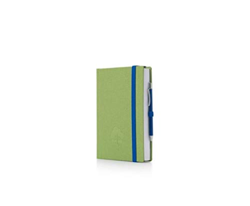 Agenda 16 mesi 2018 2019 Accademica Giornaliera woodstock con penna InTempo 9x13 cm Verde