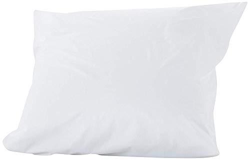 Sweetnight - Lot de 2 Protège Oreillers 65x65 cm   Set de 2   Imperméable et Micro Respirant   Souple et Silencieux   Lavable à 90°C   Zip de Fermeture