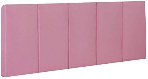 OYY Manufacture Cojines Almohada de la Cama sin cabecera Tapiz de colección de colección de colección Acolchada removible Cubierta Lavable, 5 Colores (Color : A, Size : 120x60cm)