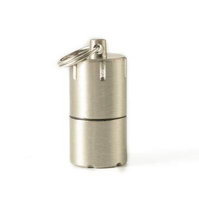 Mini briquet 2.0 en acier inoxydable/laiton/titane (accessoires de lampe de poche)