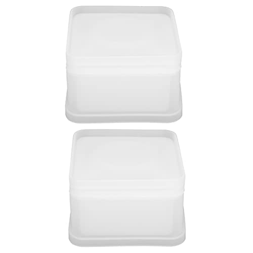 KAKAKE Caja de Bricolaje, fácil de desmoldar Buena flexibilidad Joyero para almacenar Pendientes Anillos y Llaves para Decorar la habitación