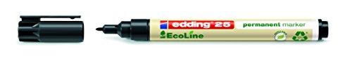 edding Permanentmarker 25 EcoLine, nachfüllbar, 1 mm, schwarz