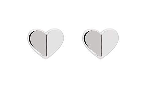 Tommy Hilfiger - Pendientes de pasador en forma de V para mujer