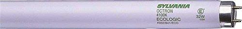 Sylvania 22179Octron 800XP SuperSaver ecologic3lineal Lámpara Fluorescente T8, 4100K, Medium bipin, 48en, 28W, 30por caso (1/CS)
