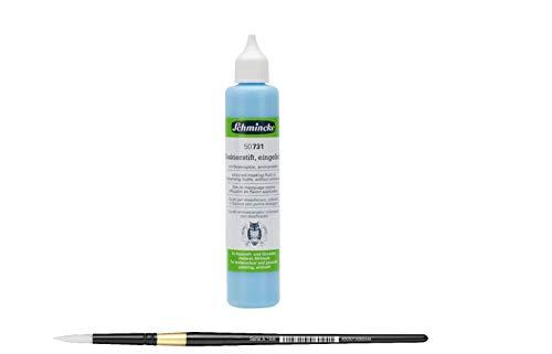 Schmincke Rubbelkrepp Maskierfilm Maskierflüssigkeit für Aquarell Airbrush Lettering (25ml)