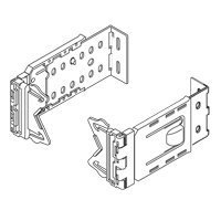Graber 2 1/2-Inch Wide Dauphine Curtain Rod Brackets, 6 to 8 1/2-Inch Projection (White, 1 Pair)