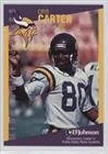 Cris Carter (Football Card) 1997 Minnesota Vikings Minnesota Crime Prevention Association Minnesota Crime Prevention Association - [Base] #4