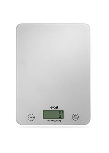 Bilancia da Cucina Digitale Eva Collection 033376 Max 15Kg d=1g