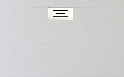 Plato DE Ducha Resina Modelo Eros (Blanco, 100 X 70)