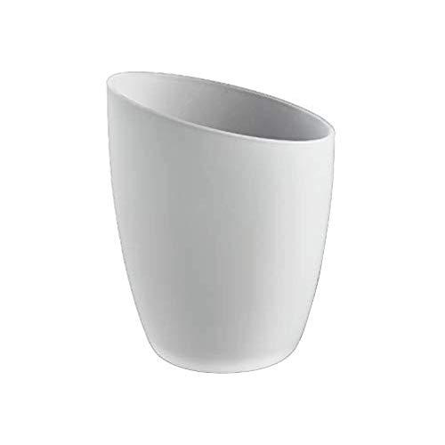 Paralume conico, inclinato, in vetro smerigliato, di ricambioper B&Q Quo & Venus Lighting (cono Ottoni)