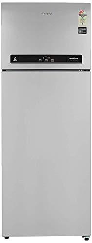 Whirlpool 500 L 3 Star Inverter Frost-Free Double Door Refrigerator (INTELLIFRESH INV CNV 515 3S, Alpha Steel, Convertible)