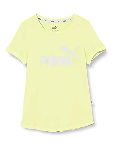 PUMA Mädchen ESS Tee G T-Shirt, Sunny Lime, 152