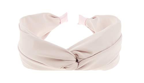 Glamour Girlz - Cerchietto da donna con dettagli intrecciati, in tessuto