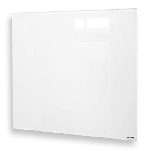 VASNER Citara G - Glas Infrarotheizung, 450-900 Watt, Elektroheizung Wandmontage & Deckenmontage, energiesparend, elektrisch, Badezimmer, IPX4 (450 Watt)